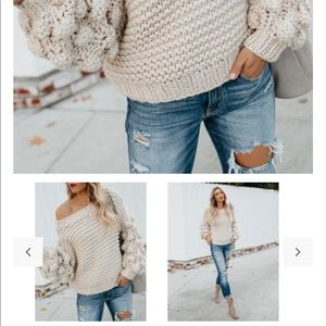 Vici Sweaters - VICI Balloon sleeve sweater